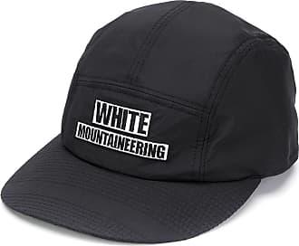 White Mountaineering Boné com logo bordado - Azul