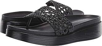 Donald J Pliner Fifi 20 (Black Nappa/Woven) Womens Shoes