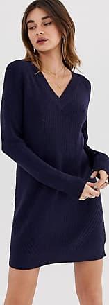 Noisy May Sati - Vestito maglia-Navy