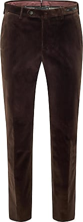 Pantaloni Torino Cordhose Slim Fit dunkelbraun bei BRAUN Hamburg