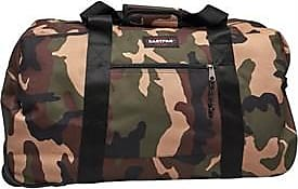 Eastpak large holdall with retractable telescopic handle and durable wheels for ease of movement