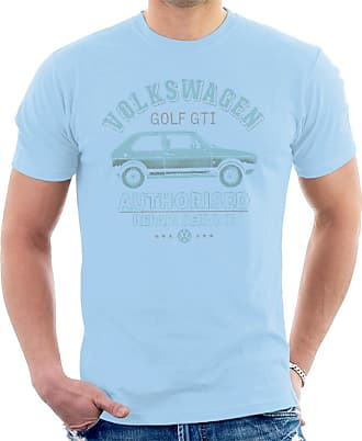 Volkswagen Blue Golf GTI Repairs Mens T-Shirt