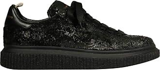 Officine Creative Fashion Woman OCDKRAC100NERO Black Leather Sneakers | Fall Winter 19