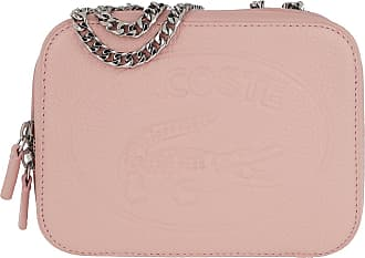 Lacoste Cross Body Bags - Croco Crew Crossover Bag Pale Blush - rose - Cross Body Bags for ladies