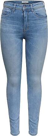 Jacqueline de Yong Womens JDYJONA Skinny HIGH NOOS DNM Jeans, Blue (Light Blue Denim Light Blue Denim), 30W x 32L