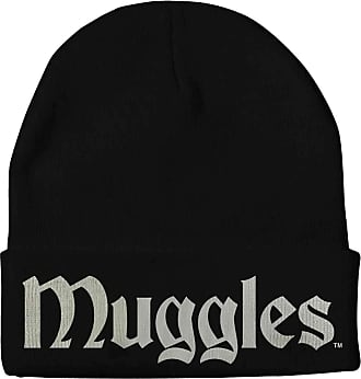 Harry Potter Beanie Hat Muggles Official Black One Size