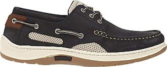 Quayside Mens Sydney Boat Shoes, Blue (Navy 001), 13 (48 EU)