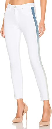 Hudson Barbara Highrise Super Skinny in White Ice