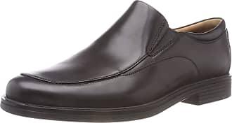 Clarks Mens Un Aldric Walk Derbys, Black (Black Leather), 8 UK