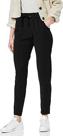 Jacqueline de Yong Womens JDYCATIA Pants JRS NOOS Trousers, Black (Black Black), W (Size : XL)