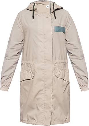 Yves Salomon Jacket With Inserts Womens Beige