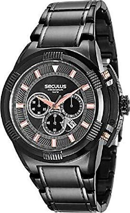 Seculus Relógio Masculino Seculus 20481G0PSVPA1 Preto