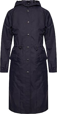 Etro Patterned Hooded Jacket Womens Navy Blue