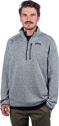 Patagonia Better Sweater 1/4 Zip Fleece Pullover stonewash