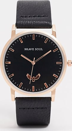 Brave Soul black watch with gold detail