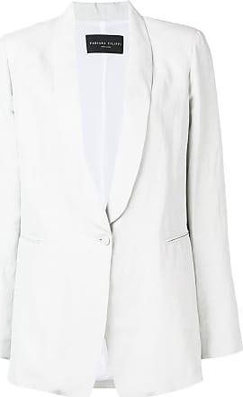 Fabiana Filippi mid-length blazer - Neutrals