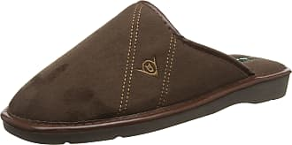 Dunlop Mens Alphonse Low-Top Slippers, Brown), 8 UK 42 EU