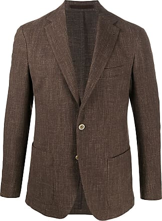 Eleventy single-breasted blazer - Brown