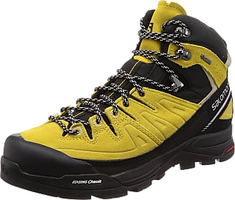 5528d913b629 Salomon Menss X Alp Mid LTR GTX High Rise Hiking Boots Green Sulphur Vintage  Kaki