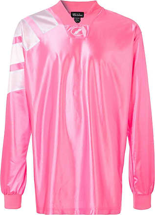 We11done oversized jersey top - PINK