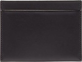 The Row Leather Cardholder - Mens - Black