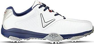 Homme Bleu EU Golf Chev Mulligan Blanc 40 de Callaway Chaussures 0TX1q4