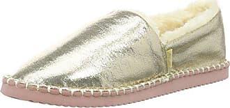 Flip Gold Flippadrilla EU Mocassins 913 Femme Shiny 39 Pale Flop Or rfWqRH0ra