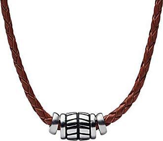 e6eb43af2f83 Fossil Cadena de Collar de Hombre con Acero Inoxidable