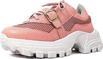 Damannu Shoes Tênis Craquelê Susan Rosa Candy - Cor: Rosa - Tamanho: 37