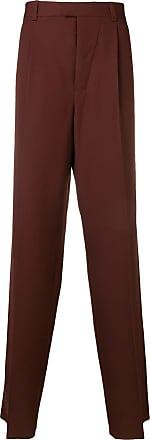 OAMC Calça pantalona - Vermelho