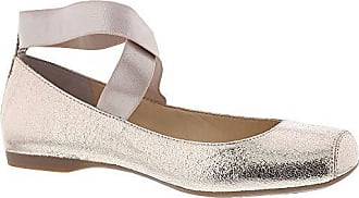 Jessica Simpson Womens Mandalaye Ballet Flat, Gold (Purple Orange 717), 9 M US