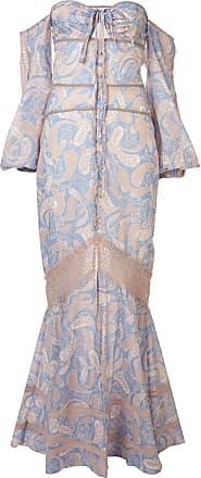 We Are Kindred Sorrento off-shoulder maxi dress - Blue