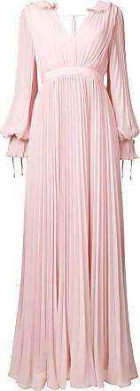 Self Portrait pleated evening dress - Pink