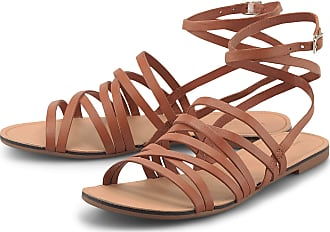 Vagabond Tia Multi Strap Womens Brown Sandals-UK 7 / EU 40
