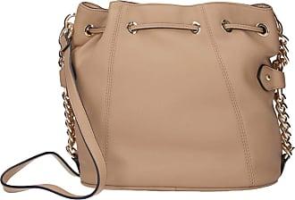Twin-Set Twin-Set Womens Beige Bucket Bag MOD. 201TO8013 - Brown - One size