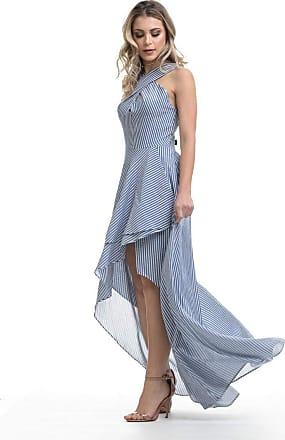 Clara Arruda Vestido Clara Arruda Longo Listras 50455 - M - Listras