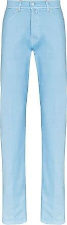 Kiton Calça jeans slim - Azul