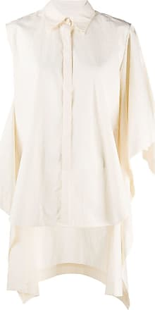 Uma Wang deconstructed oversized shirt - White