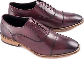 Ikon Toby Lace Up Oxford | Bordo (10)