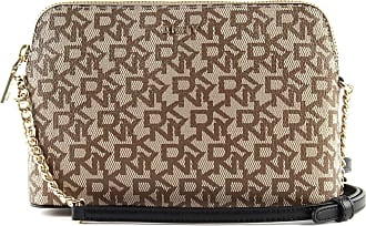 DKNY Bryant Shoulder bag beige/brown