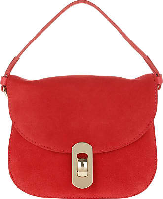Coccinelle Mignon Suede Crossbody Bag Polish Red Umhängetasche rot