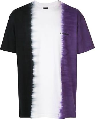 Noon Goons Camiseta tie-dye de algodão - Preto