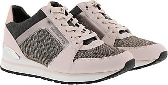Michael Kors Sneakers - Billie Trainers Black Gold - beige - Sneakers for ladies