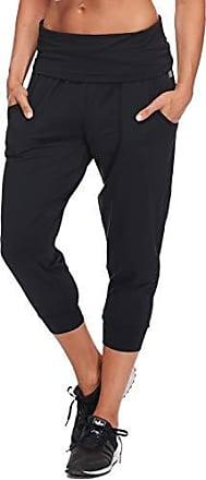 Body Glove Active Womens Jupiter Loose FIT Activewear Capri Pant, Black, Small
