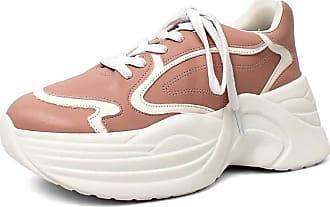 Damannu Shoes Tênis Chunky Luiza - Cor: Rosa - Tamanho: 37