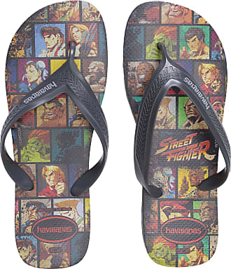 Havaianas CHINELO MASCULINO TOP MAX STREET FIGHTER - CINZA