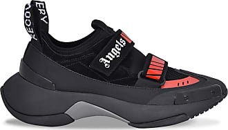 Palm Angels Black and red Recovery sneakers