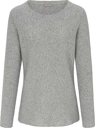 include Rundhals-Pullover include grau