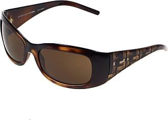 Fendi Fendi Brown Tortoiseshell Ladies Wrap Sunglasses 299-238 with Case and Cloth
