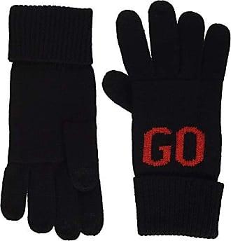 0cb41e595c322e HUGO BOSS Herren Men-W 18 Handschuhe, Schwarz (Black 001), One